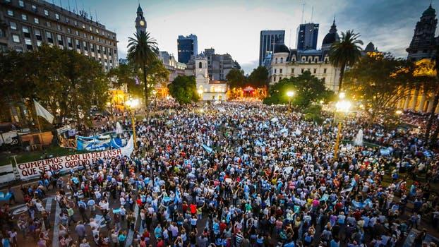 En fotos as fue la marcha del 1 a la nacion Noticias del dia de hoy en argentina espectaculos