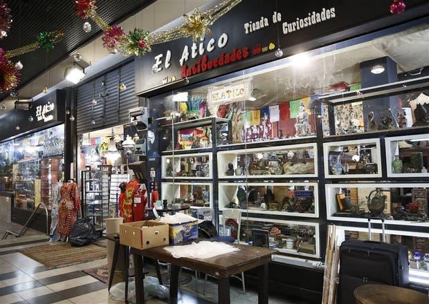 El local El Ático, propiedad de Olivares, en la estación Maipú, del Tren de la Costa, en Olivos