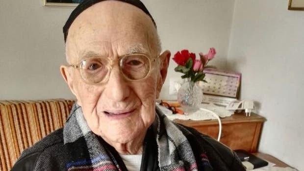 Yisrael Kristal, el hombre más viejo del mundo, murió a la edad de 113 años