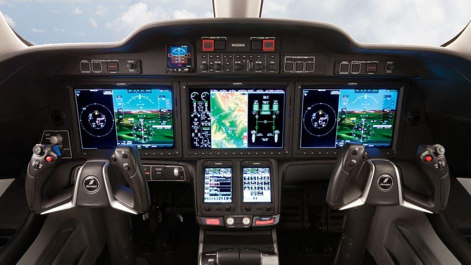 El avión Honda Honda Jet que alcanza una altitud de 43.000 pies y una velocidad de 422 nudos a FL300 y cuesta US$ 4,9 millones. Foto: Gentileza Honda
