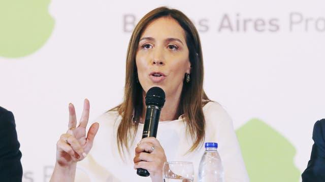 María Eugenia Vidal y un día decisivo