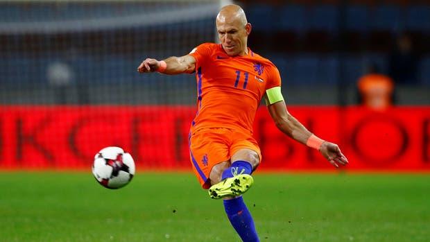 Robben, el símbolo holandés