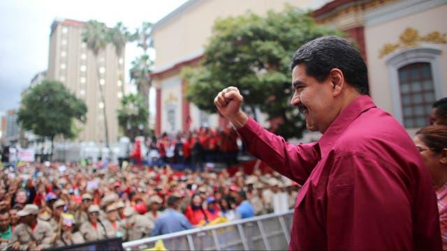 Maduro, en un acto en Caracas