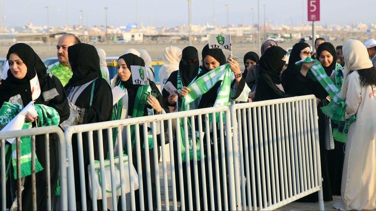 Las filas de ingreso para el sector femenino