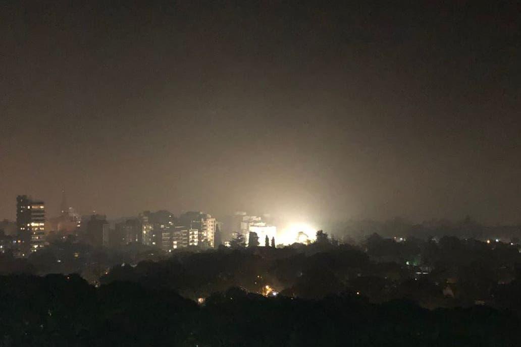 Otra vez el humo cubrió la Ciudad y el Conurbano