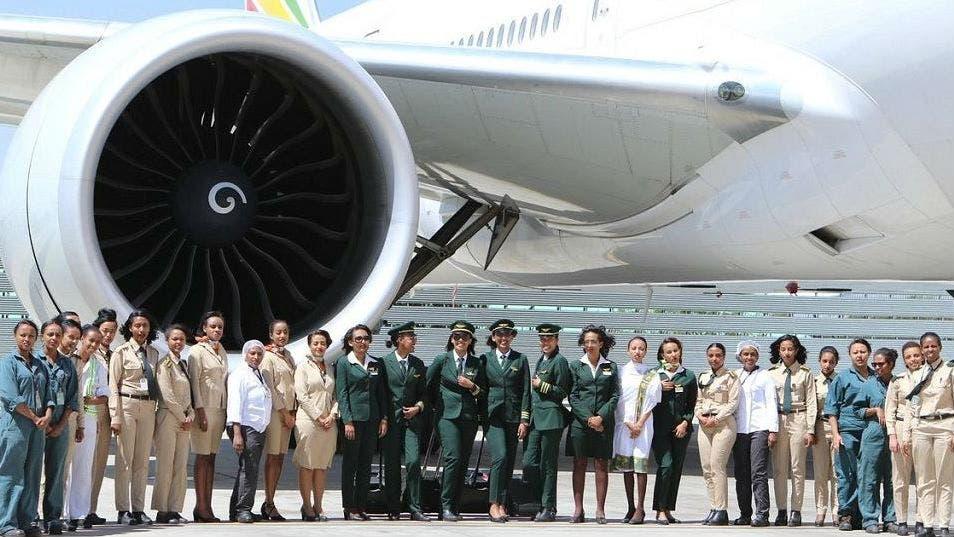 Macri recibe este viernes a la tripulación femenina de una aerolínea etíope