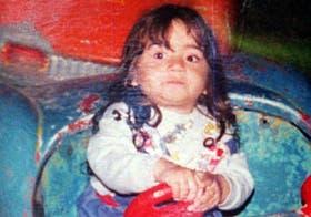Mariela Soledad Monzón, de tres años