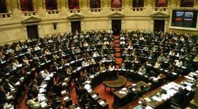 La cámara baja discutia esta noche la ley de cambio de huso horario en la República Argentina