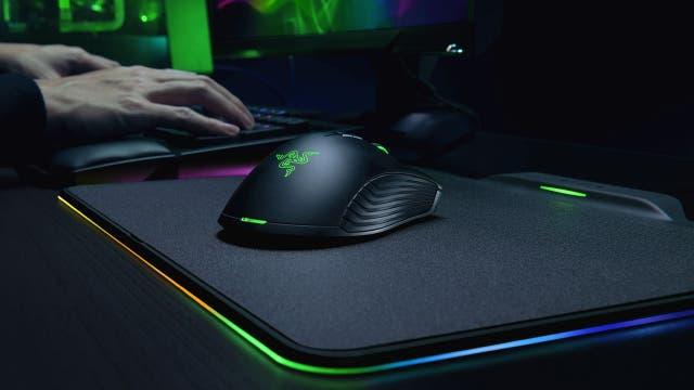 El ratón Razer Mamba con su gamepad de carga inalámbrica