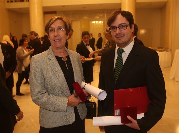 Beatriz Aguirre-Urreta y Martín Ezcurra alcanzaron uno de los premios más importantes en América latina