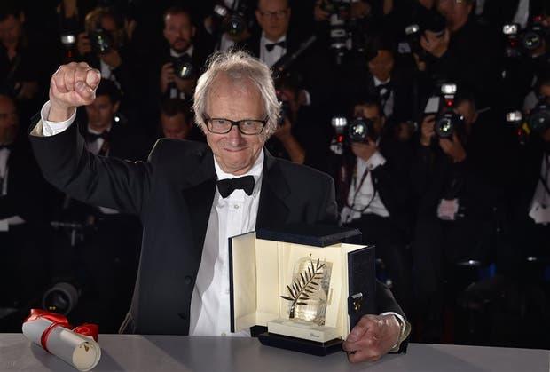 Loach en Cannes, distinguido a sus jóvenes 80 años