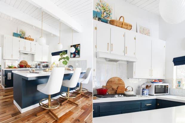 8 ideas para una barra en la cocina   living   espacio living