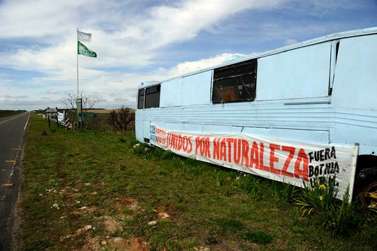 Botnia retomó la producción tras el aval de Mujica y pese al conflicto con la Argentina. Foto: LA NACION / Marcelo Manera