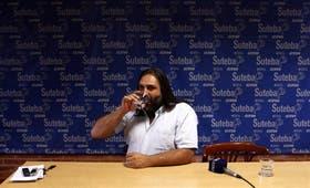 Baradel, de Suteba, advirtió que será Scioli el responsable de que las clases no comiencen en Buenos Aires si no se logra un acuerdo salarial