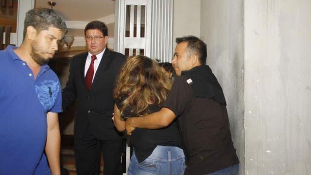 Familiares del condenado, tras escuchar el fallo
