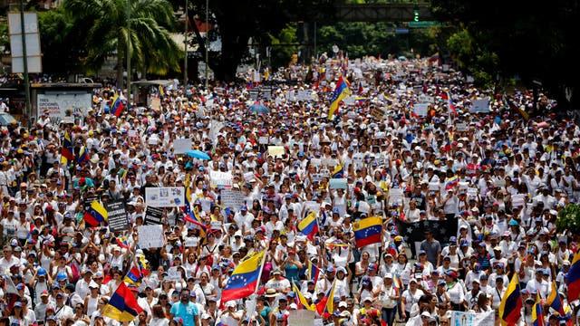 Las mujeres, protagonistas de una nueva marcha en Venezuela