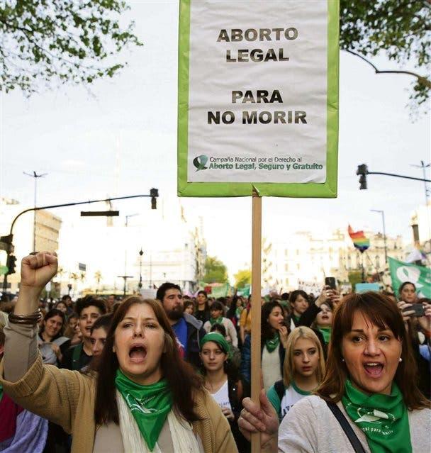 Los manifestantes partieron de Plaza de Mayo