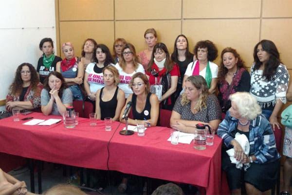 La conferencia de prensa se llevó a cabo en el CELS