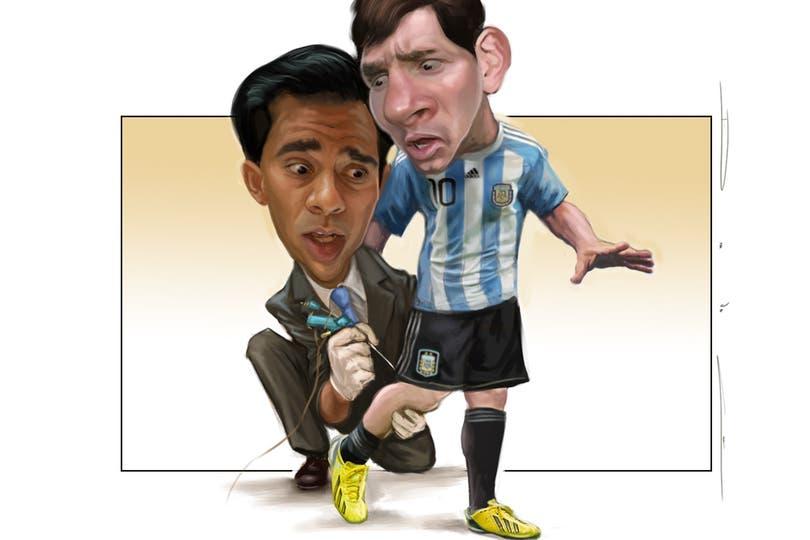Messi y su nueva insignia