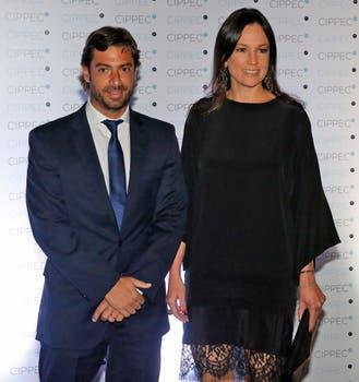 Carolina Stanley y Federico Salvai. Foto: LA NACION / Fabián Marelli