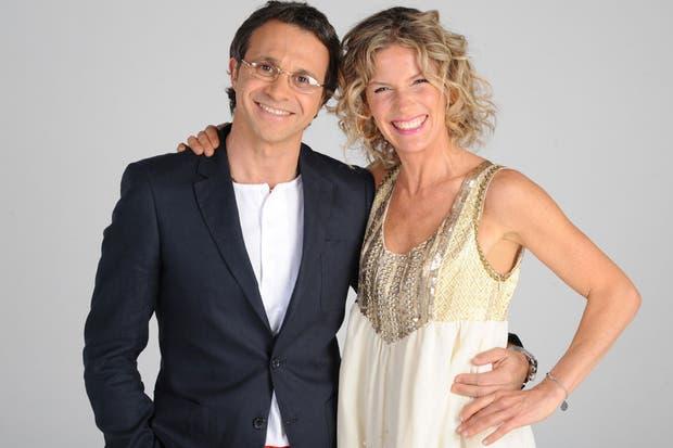 Sergio y Maru, una dupla que promete conquistar la pantalla chica