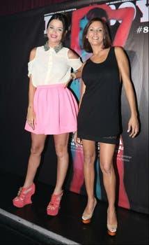 Vitto Saravia y Úrsula Vargues, lookeadas para la fiesta de Axe. Foto: Tiff