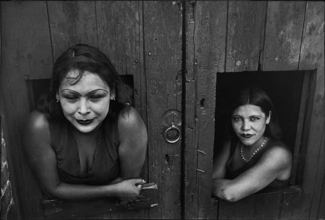 Prostitutas, calle Cuauhtemoctzin, México (1934)