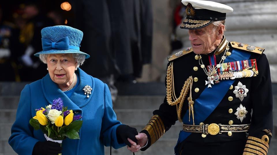 EL 13 de marzo de 2015 al salir de la Catedral de San Pablo en Londres donde se celebro un homenaje a las operaciones británicas en Afganistan. Foto: AFP