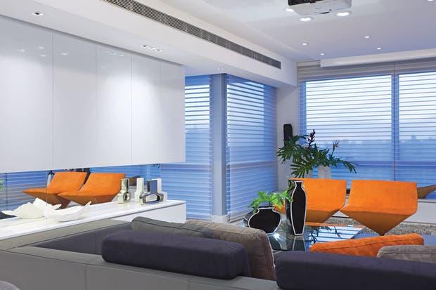 Iluminación: dos vecinos, dos estilos   iluminación   espacio living