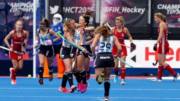 Las Leonas y un debut triunfal ante Chile