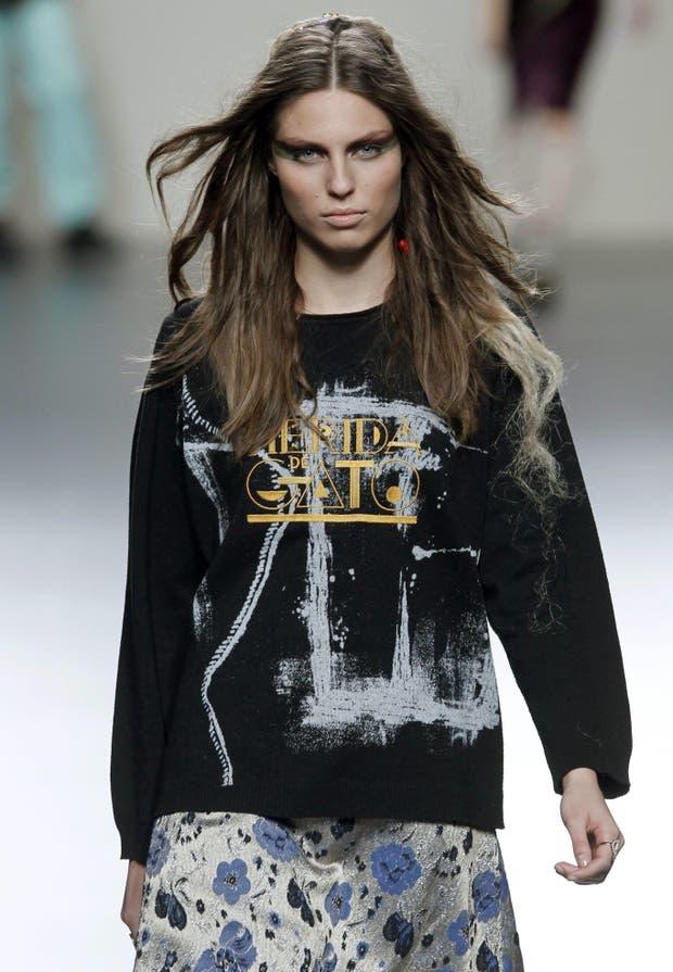 Dualidad absoluta: entre el rock y los aires campestres Ego demuestra que los diferentes estilos pueden combinarse en Madrid Fashion Week. Foto: Archivo