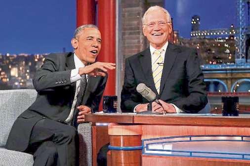 En su charla con David Letterman, Obama también alertó sobre el desafío de los algoritmos