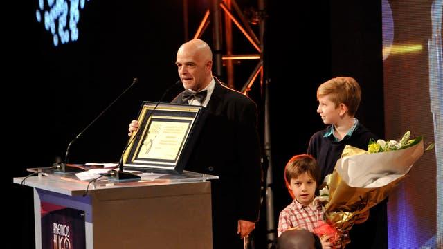 Carlos March recibió un reconocimiento a su trayectoria