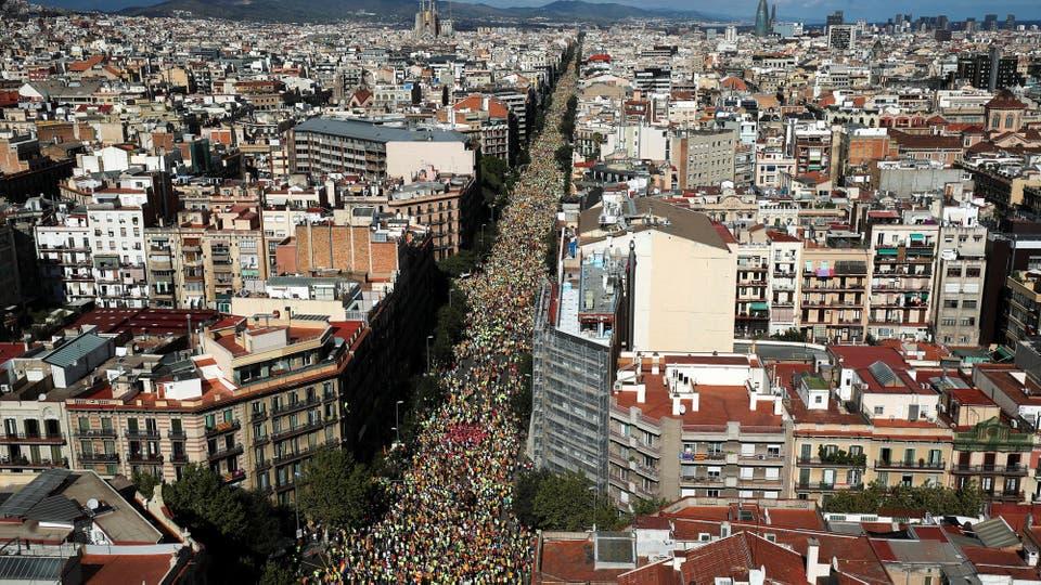 Se calcula que participaron un millón de personas. Foto: Reuters