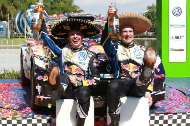 Latvala festeja su triunfo en México