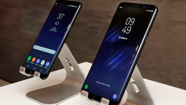 El Galaxy S8 en sus dos versiones, con pantallas de 5,8 y 6,2 pulgadas