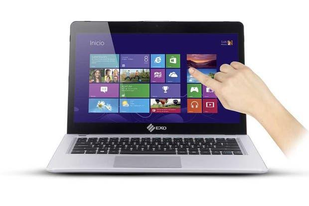 EXo Nifty Touch, con Windows 8 y pantalla táctil de 13 pulgadas