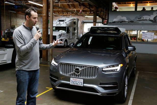 Anthony Lewandoski, ex empleado de Google, había fundado Otto, una firma de camiones autónomos que fue adquirida por Uber en 2016