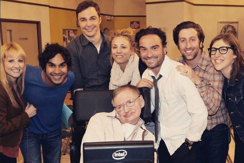 """""""Fue un honor tenerlo en The Big Bang Theory. Gracias por inspirarnos a nosotros y al mundo"""", se puede leer en los perfiles en redes sociales de los actores de la serie"""