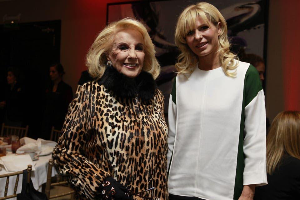 Mirtha y Karina Rabolini. Foto: /Fabián Marelli