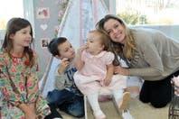 """Sienna Cubero cumplió un año y celebró con una fiesta """"shabby chic"""""""