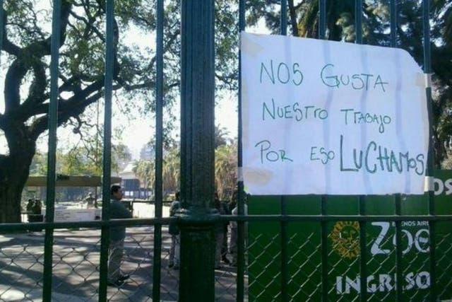 El zoo porteño no abrirá sus puertas durante todo el día por el paro