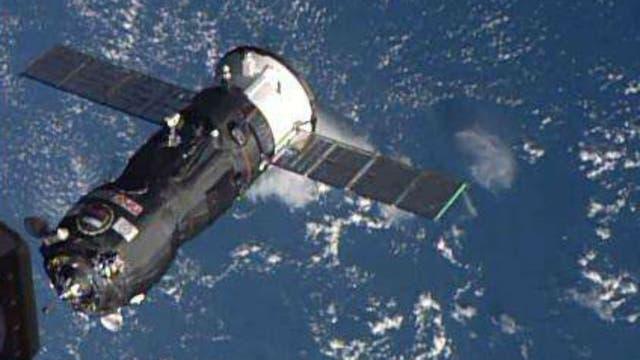 La cápsula llevaba alimentos y suministros a los astronautas de la EEI