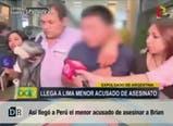 Así llegó a Perú el acusado de asesinar a Brian