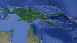 Un sismo de 8 grados en la escala Ritcher golpeó Papúa Nueva Guinea