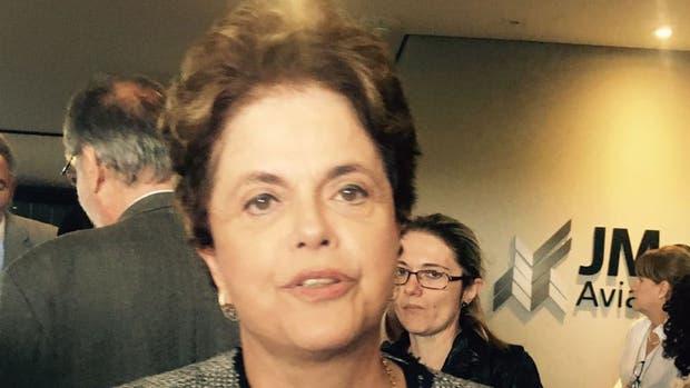 Dilma Rousseff está junto a Lula en el día en que debe declarar por Lava Jato