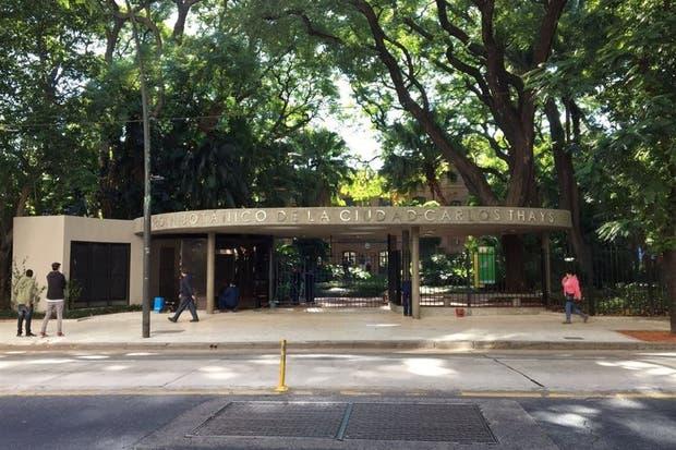 El recién estrenado acceso al Jardín Botánico