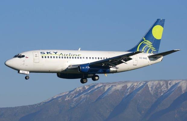 Sky comienza a vender vuelos directos Rosario-Chile a menos de $1.000