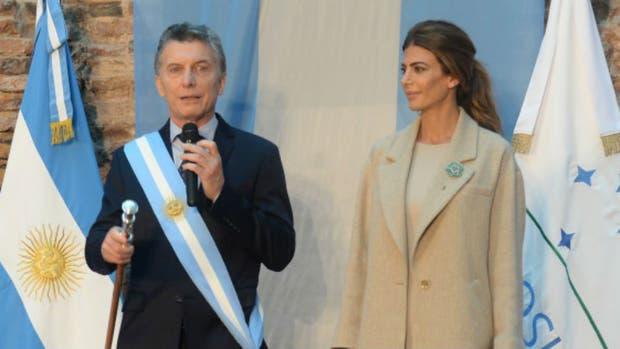 Mauricio Macri participó del locro federal