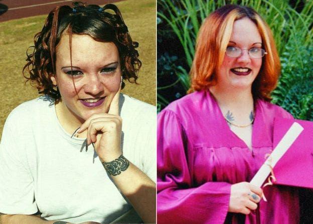Angela fue liberada en 2001 y obtuvo una licenciatura en sociología y psicología